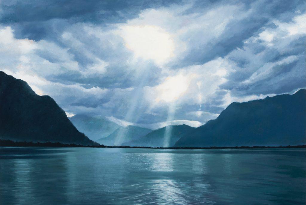 Cascade Art -Jill Kempson - When the Light Beams Through